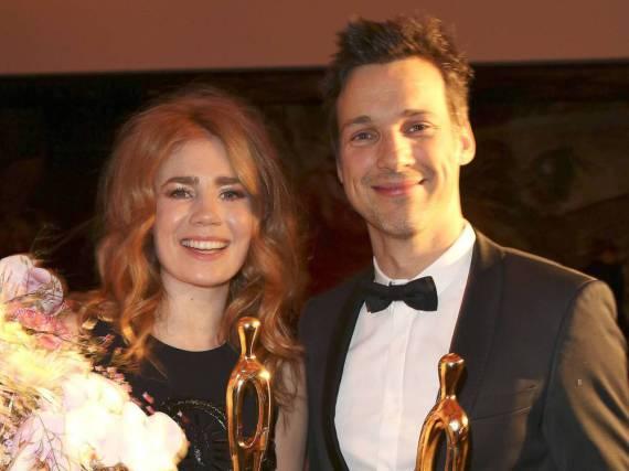 Palina Rojinski und Florian David Fitz sind sich im Film