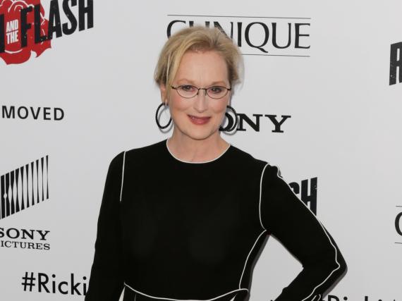Meryl Streep scheint politisch äußerst interessiert zu sein