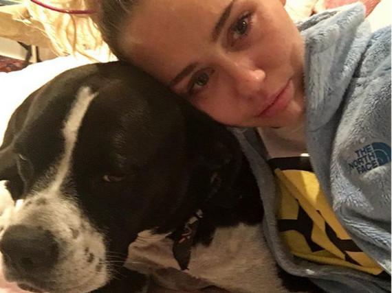 Schluchzend im Hillary-Shirt: Bei Miley Cyrus flossen nach der US-Wahl Tränen