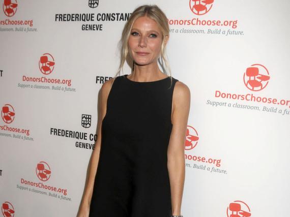 Schick und elegant: Gwyneth Paltrow setzt aufs kleine Schwarze