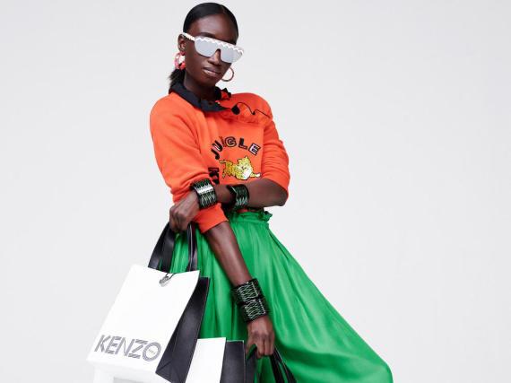 Die Kollektion Kenzo x H&M ist bunt und schrill