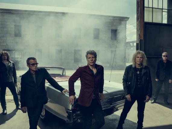 Geben wieder Vollgas: Bon Jovi