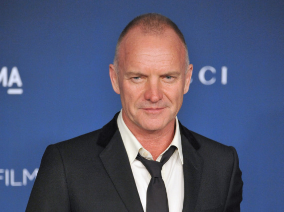 Rocksänger Sting wurde in den Siebzigern und Achzigern als Frontmann von