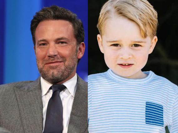 Ben Affleck erzählte, dass sein Sohn mit Prinz George spielen konnte