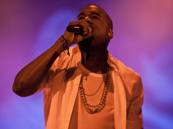 Kanye West bei einem Festival-Auftritt in Göteborg,