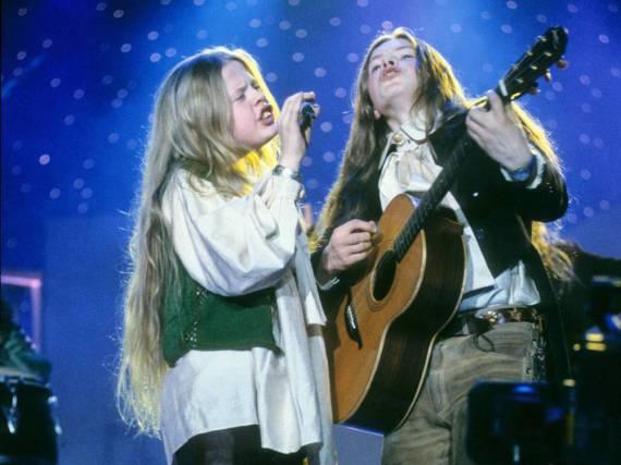 Angelo (l.) und Paddy Kelly im Jahr 1995 - die Mädchenherzen lagen ihnen zu Füßen