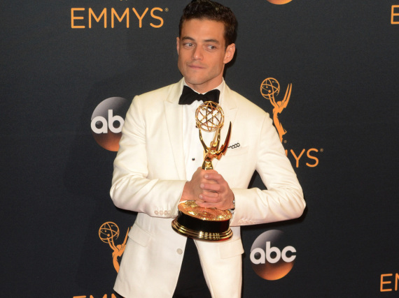 Rami Malek bei der Emmy-Verleihung