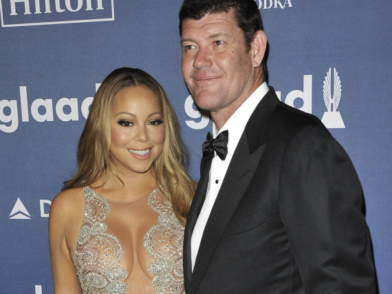 James Packer und Mariah Carey bei einer Veranstaltung in New York City