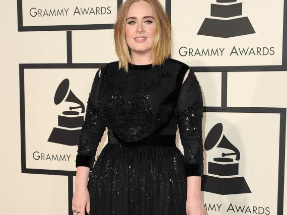 Adele bei der Grammy-Verleihung in Los Angeles
