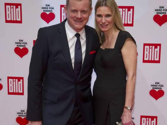 Marc Bator und seine Frau Hellen bei einer Veranstaltung in Berlin