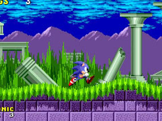 Hüpft jetzt auch über den Nintendo 3DS: Sonic