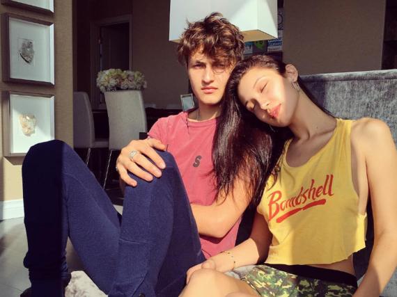 Bella Hadid und ihr Bruder in trauter Zweisamkeit