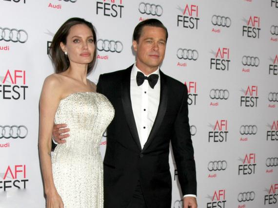 Im November 2015 ahnte noch niemand, dass es bei Angelina Jolie und Brad Pitt zu einem Scheidungskrieg kommen würde