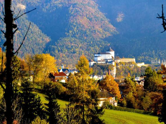 Wahrzeichen im Kufsteinerland: die Festung Kufstein