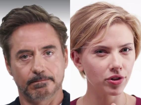 Es ist ihnen ernst: Hollywood-Stars wie Robert Downey Jr. und Scarlett Johansson wollen die US-Bevölkerung zum Wählen motivieren