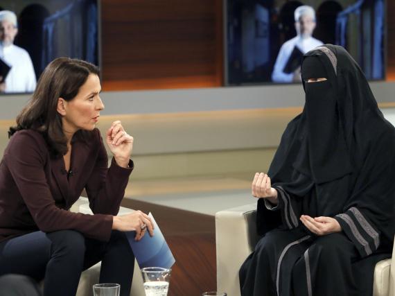 Muslima Nora Illi zu Gast bei Anne Will