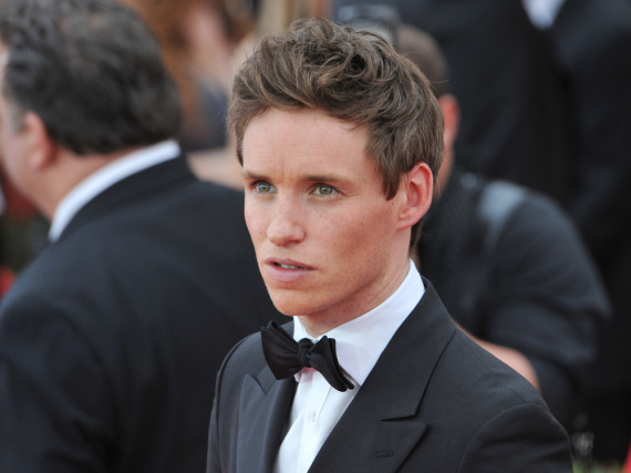 Eddie Redmayne war ein Part in