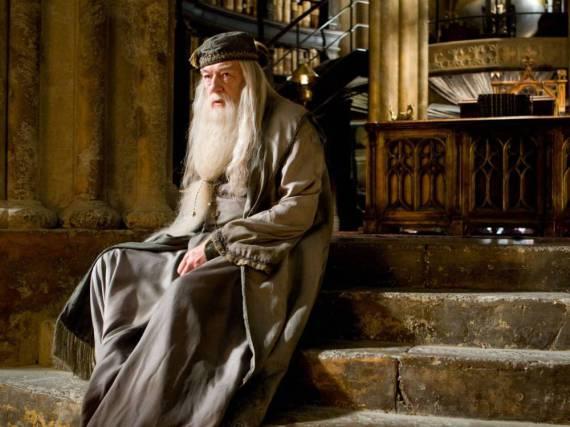Michael Gambon spielte Albus Dumbledore in fünf