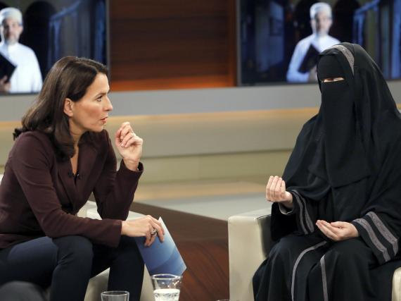 Anne Will sprach in ihrer jüngsten Sendung mit der vollverschleierten Schweizerin Nora Illi