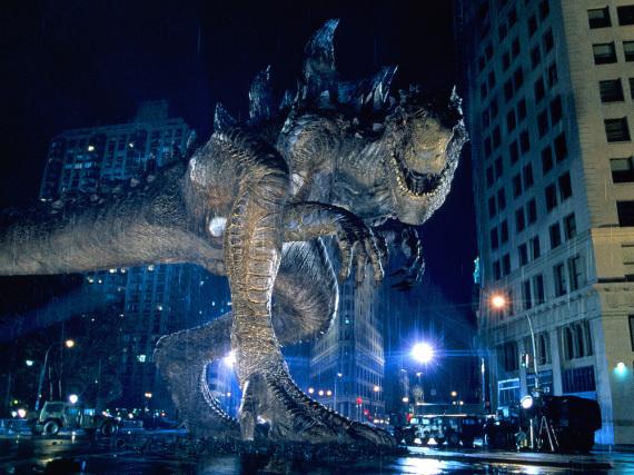 Godzilla macht New York unsicher