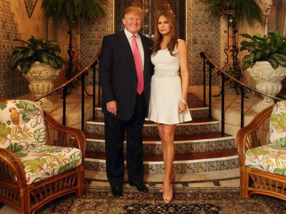 Weiß, körperbetont und teuer - Melania Trump verfolgt einen klaren Stil