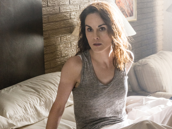 Michelle Dockery alias Letty in