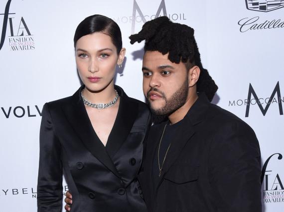 Nur selten zeigten sich Bella Hadid und The Weeknd gemeinsam auf dem roten Teppich