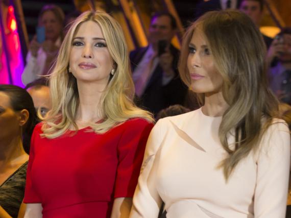 Ähnlich aber doch verschieden: Ivanka (links) und Melania Trumps Stil unterscheidet sich in Feinheiten