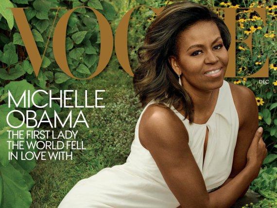 Michelle Obama auf ihrem bereits dritten Cover der US-