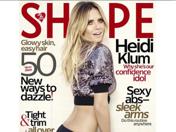 Heidi Klum auf dem Cover der