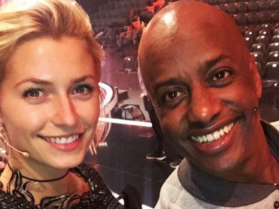 Auf Instagram zeigt sich Moderatorin Lena Gercke mit Schauspieler Yared Dibaba, der für Bremen bei