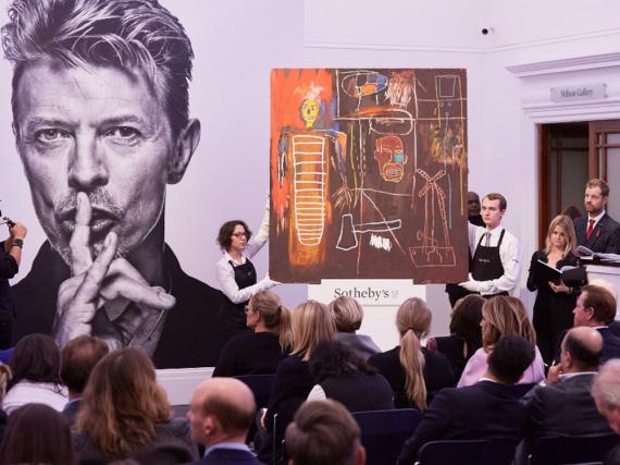David Bowies Kunstsammlung übertraf bei der Versteigerung die Erwartungen