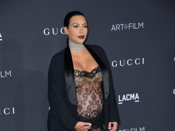 Werden wir diesen Anblick nie wiedersehen? Kim Kardashian hochschwanger im November 2015