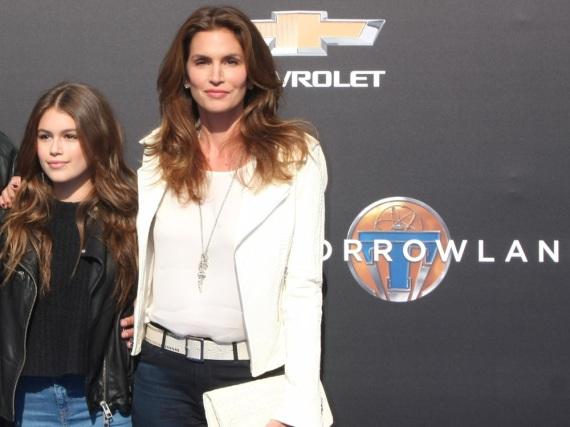 Cindy Crawford ist stolz auf ihre Tochter Kaia Gerber