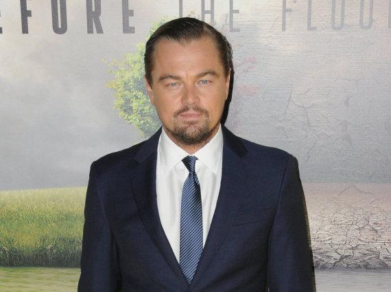 Leonardo DiCaprio beim Screening des Dokumentarfilms