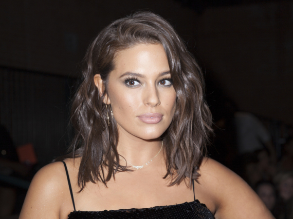 Ashley Graham auf der New York Fashion Week in September 2016