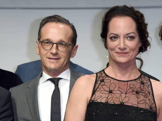 Heiko Maas und Natalia Wörner stehen zu ihrer Liebe