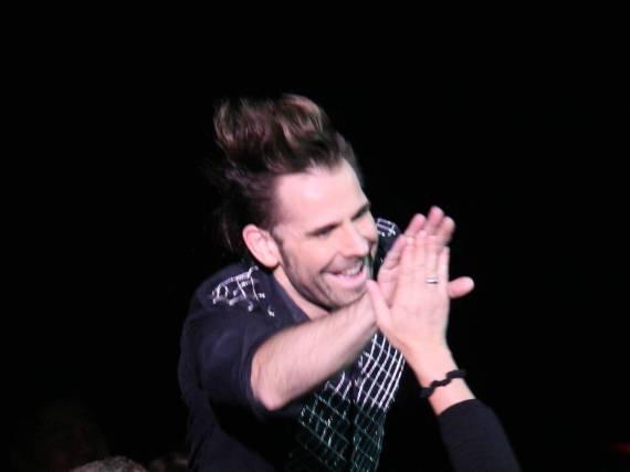 Jan Rouven während eines Auftritts in Las Vegas