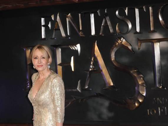 J.K. Rowling auf der Europapremiere von