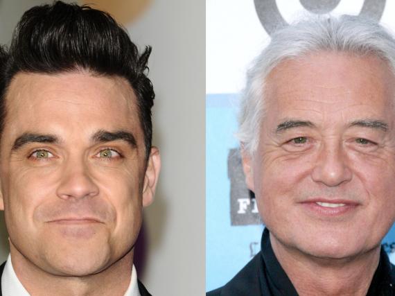 Die nächste Runde im Nachbarschaftsstreit zwischen Jimmy Page und Robbie Williams ist eingeläutet.