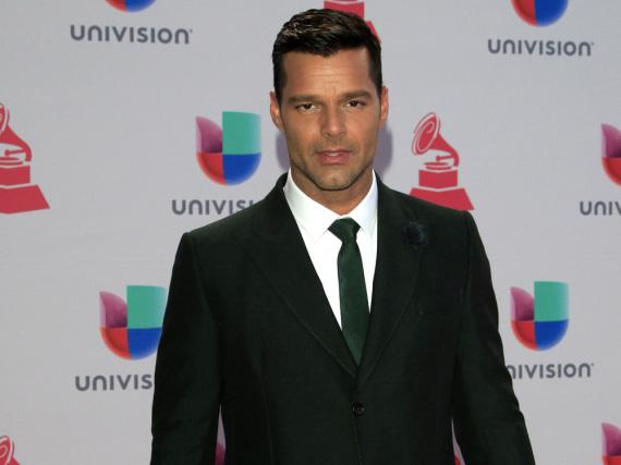 Ricky Martin schwebt auf Wolke sieben