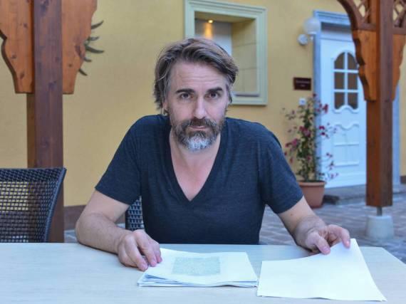 Jens Harzer spielte den Serienkiller im Wiesbaden-