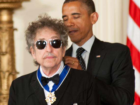 Den Friedensnobelpreis holt Bob Dylan nicht ab, die