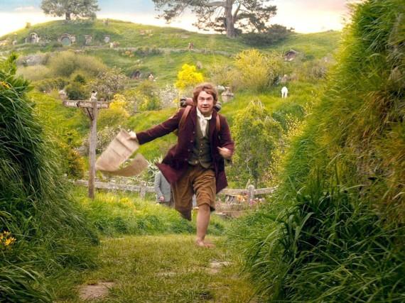 Schließlich gewinnt die Abenteuerlust doch die Oberhand und Bilbo (Martin Freeman) folgt dem Zwergentrupp.