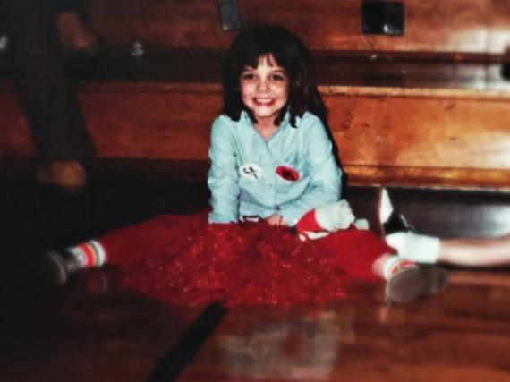 So sah Katie Holmes mit sechs Jahren aus