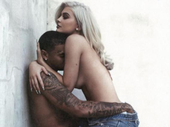 So sexy posieren Tyga und Kylie Jenner zusammen