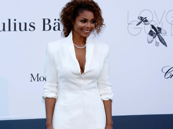 Janet Jackson bei einem Auftritt in Cannes