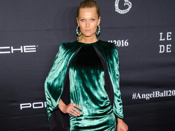 Das deutsche Model Toni Garrn lief bereits als