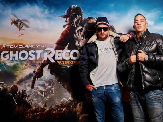 Vom Gangsta-Rapper zum Videospiel-Gangster: KC Rebell (l.) und Farid Bang