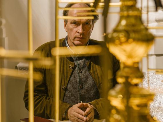 Herbert Knaup spielt Kommissar Kluftinger